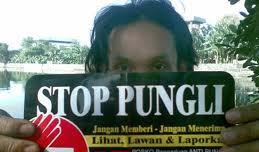 Stop Pungli/Foto: bhratanews.com