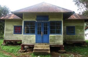 Aset Perkebunan, sekarang menjadi perpustakaan sekolah