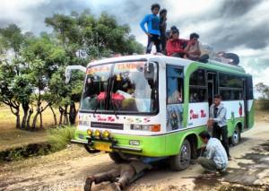 Bus Dunia Mas, Jurusan Bima - Calabai