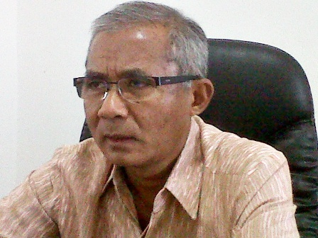 Sekretaris Daerah Kota Bima, Ir. Muhammad Rum.