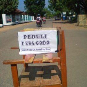 Komunitas Ojek Pun Peduli Nasib Warga Godo