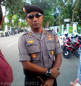 Kapolres Bima Kota, AKBP Kumbul KS S.IK SH,. Foto: Arief