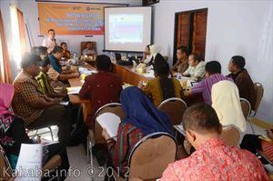Workshop PPID Pemkab Bima. Foto: bagian Humas Pemkab Bima