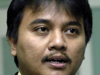 Roy Suryo resmi diangkat menjadi menpora RI. Foto: padangekspress.co.id