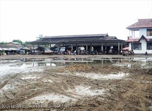 Kondisi Terminal Tente Kecamatan Woha yang tidak layak lagi