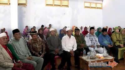 KH. Zul bersama H. Zuinul dan Pasangan JAMIN dalam kegiatan Silaturahmi di GSG Muhamadiyah Kota bima, Jumat
