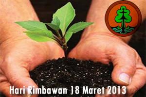 Hari Rimbawan 18 Maret 2013