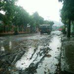 Proyek Perbaikan Jalan Terlantar, Warga Mengeluh