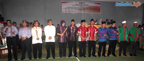 Tujuh pasangan Calon Walikota dan Wakil Walikota Bima. Foto: Kahaba