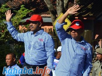 Pasangan Qurma, peserta Pilkada Kota Bima lalu.