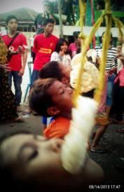 Pemuda (Komunitas Bara) menggelar berbagai macam lomba di momentum hari kemerdekaan. Foto: Group FB Kobar