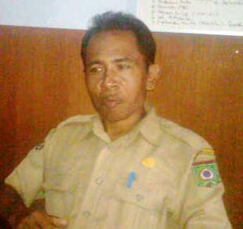 Drs. Alwi Yasin, M.AP, Sekretaris Dinas Dikpora Kota Bima. Foto: Agus