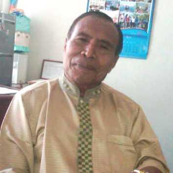 Drs. H. Mukhtar Yasin, M.AP, Ketua DPC PBB Kota Bima. Foto: Agus