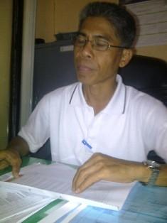 Kabid Pendapatan DPPKAD Kota Bima, Drs. Iksan. Foto: Gus