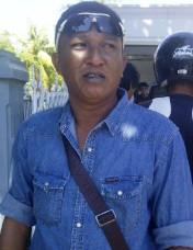 Pentolan FPK Kota Bima, Sunardin alias HB. Foto: Agus