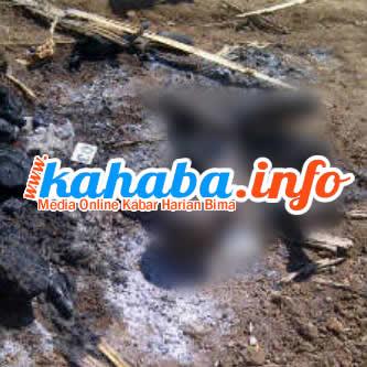 Tempat kejadian perkara dibakarnya kakek yang diduga dukun santet oleh massa. Foto: Iksan