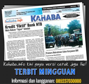 Kahaba.info kini tersedia dalam bentuk cetak