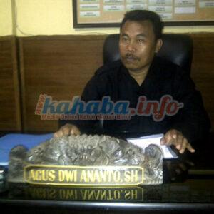 Kasat Reskrim Polres Bima Kota Agus Dwi Ananto