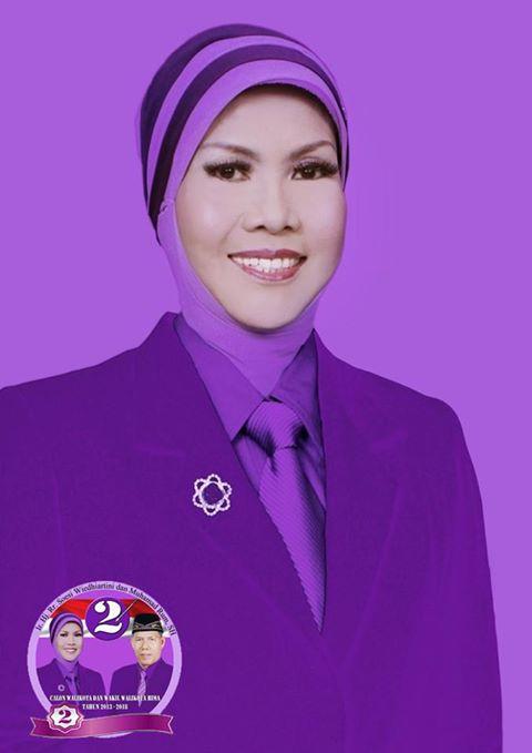 Ir. Hj. Rr. Soesi Wiedhiartini, Calon Walikota Bima (Istri Mantan Walikota Bima, Alm. H. M. Nur A. Latif).