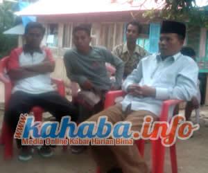 M. Guntur, Anggota DPRD Kabupaten Bima. Foto: Gus