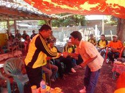 Bupati bersama masyarakat di acara BBGRM. Foto: Humas Pemkab Bima