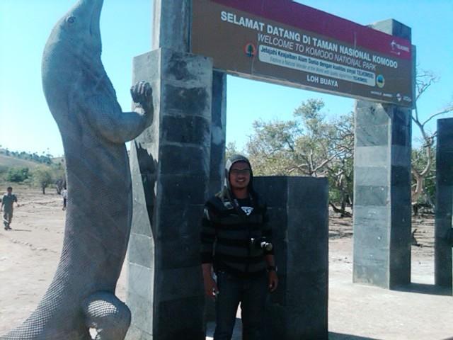 Gerbang masuk Wisata Komodo