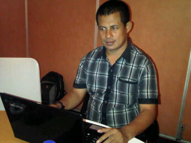 Rafidin, S.Sos, Sekretaris Tim Seleksi KPU Kota Bima. Foto: Agus