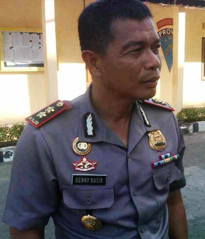 Kapolre Bima Kota, AKBP Benny Basir. Foto: Dewa