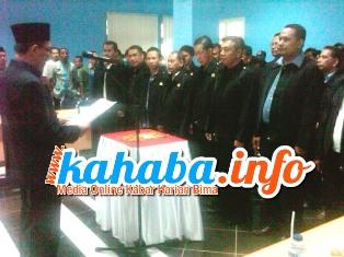 Pengurus PSSI Kota Bima Dilantik. Foto: Bin