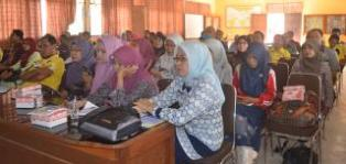 Pemerintah Kabupaten Bima gelar sosialisasi  penataan organisasi. Foto: HUM