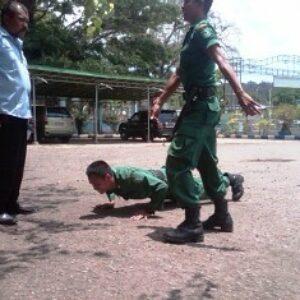 Lalai Jaga Gerbang, Dua Personil di Hukum