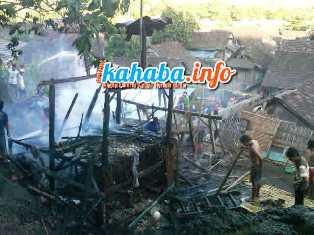 Rumah terbak