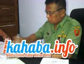 Plt Sekretaris Daerah (Sekda) Kabupaten Bima, Drs. A. Wahab. Foto: Fiq