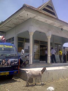 Kondisi Terminal Eera yang akan direhab. Foto: HUMAS
