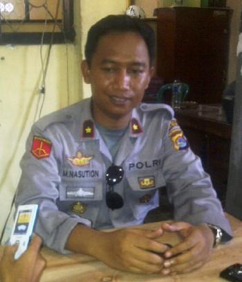 Wakapolres Bima Kota, Kompol. M. Nasution. Foto: Gus