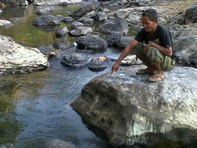 Lokasi ditemukan mayat Siti Jahara. Foto: Gus