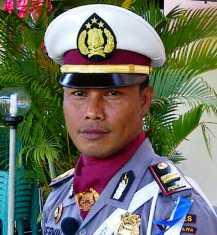 Kasat Lantas Polres Bima Kota IPTU. Herman. Foto: BIN