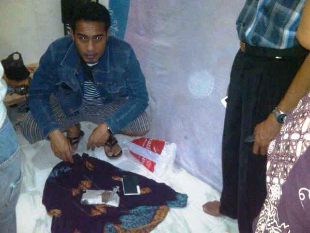 Narkoba jenis ganja yang berhasil diamankan polisi di kos-kosan Kelurahan Mande Kota Bima. Foto : Dedy