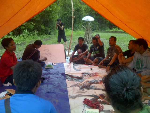 Suasana diskusi peningkatan kapasitas jurnalis. Foto: BIN