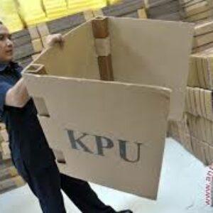KPU, Logistik Pileg baru Diterima Sebagian