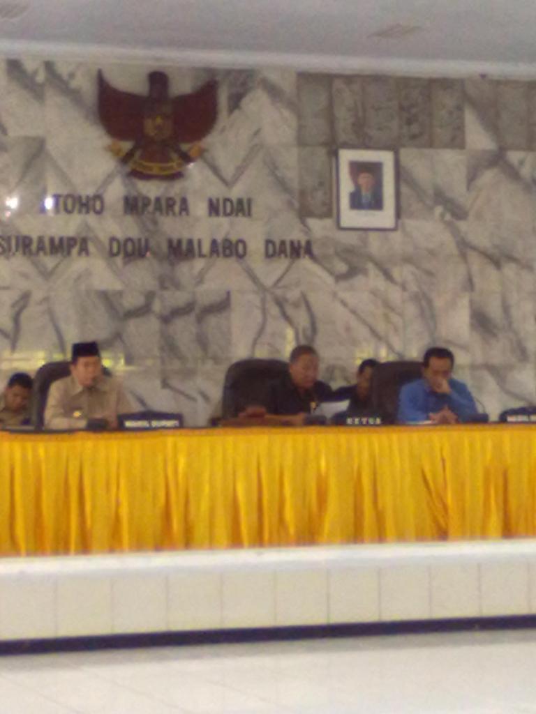 Rapat Paripurna DPRD Kabupaten Bima (ilustrasi).