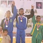 Kamarudin Rebut Emas di Nomor 10.000 Meter
