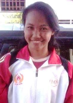 Nurul Iqamah, Atlet Panjat Tebing Kota Bima. Foto: Bin