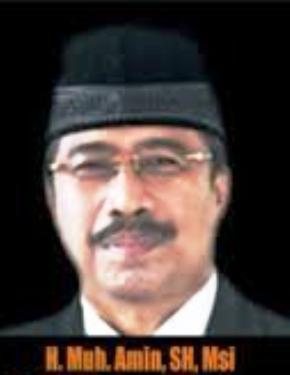 Wakil Gubernur NTB H. Mumamad Amin, SH, M.Si