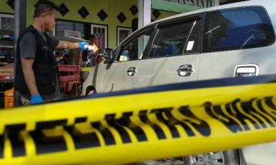 Olah TKP pasca kejadian pencurian. Foto: Teta