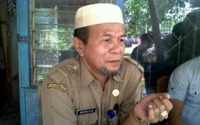 Camat Lambu, Drs. H. Mustafa HAR, MAp. Foto: Bin