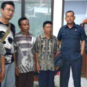 Tahanan Kota, Empat Kasek Lapor Diri Dua Kali Sepekan