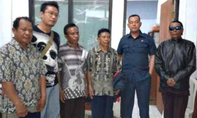 Empat Kades di Kecamatan Langgudu yang ditetapkan sebagai tersangka. Foto: Teta