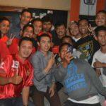 Indra Sjafri Nobar Piala AFF di Yuank Cafe'