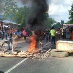 Kalah Tanding Sepakbola, Warga Blokade Jalan